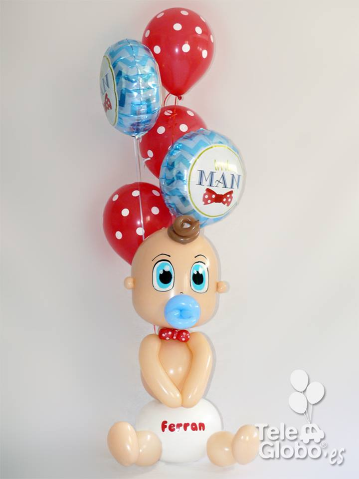 ramo de globos nacimiento