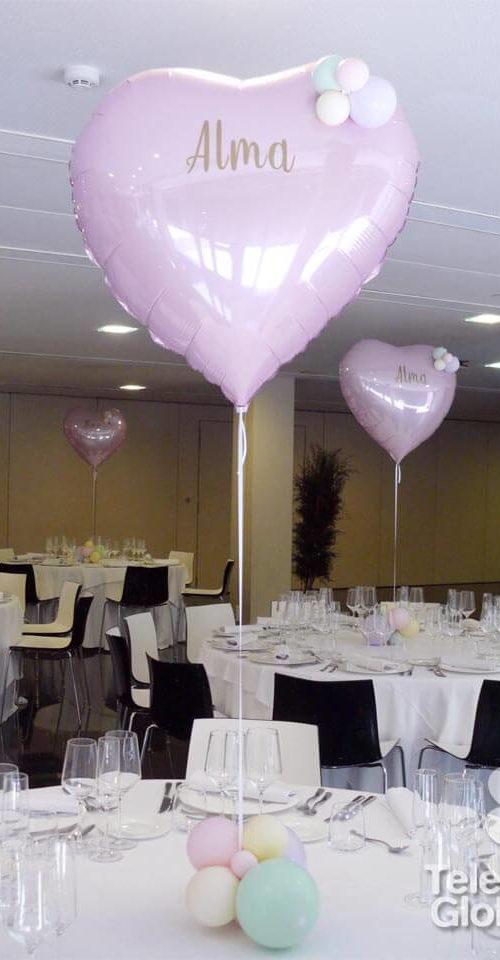 Decoración globos bautizo hotel Primus Valencia