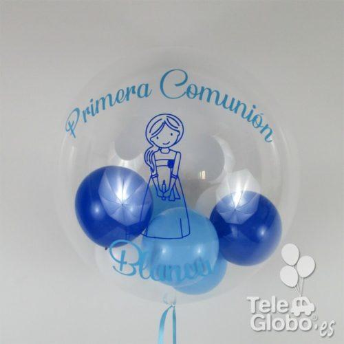 Globos comunion personalizados