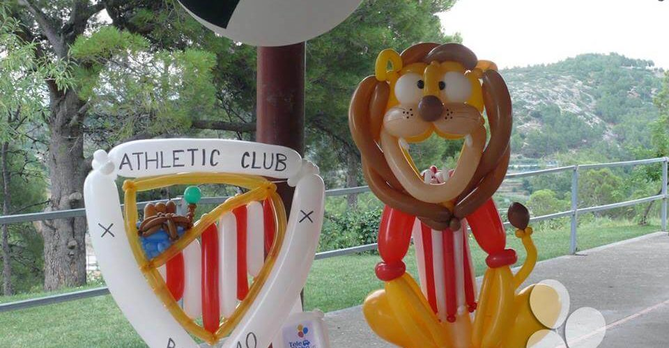 Photocall fiesta cumpleños infantil temática futbol Viver Castellon