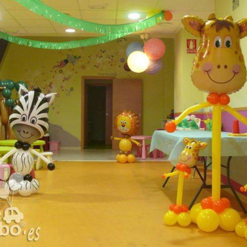 Globos cumpleaños animales