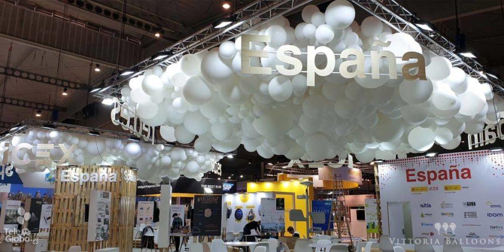Decoracion globos Ferias y Congresos