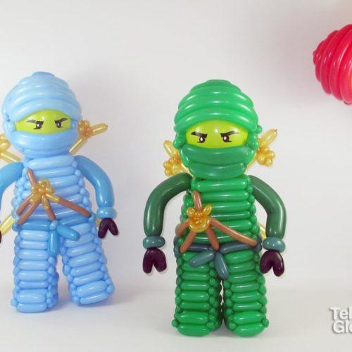 Muñecos globoflexia Lego Ninjago